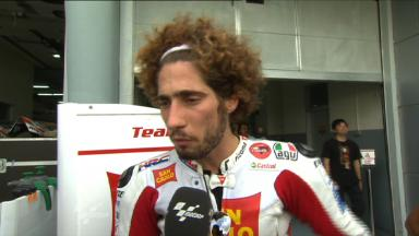 Simoncelli searching for a little more pace