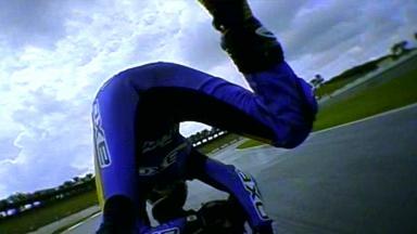 Sepang 2011 - Moto2 - FP1 - Action - Bradley Smith - Crash
