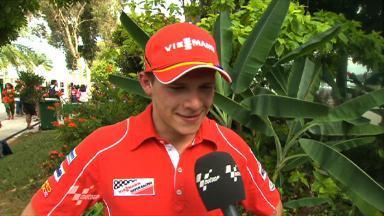Sepang 2011 - Moto2 - FP2 - Interview - Stefan Bradl
