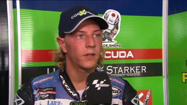 Sepang 2011 - Moto2 - FP2 - Interview - Dominique Aegerter