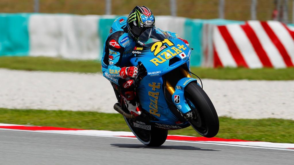 John Hopkins, Rizla Suzuki MotoGP, Sepang FP2