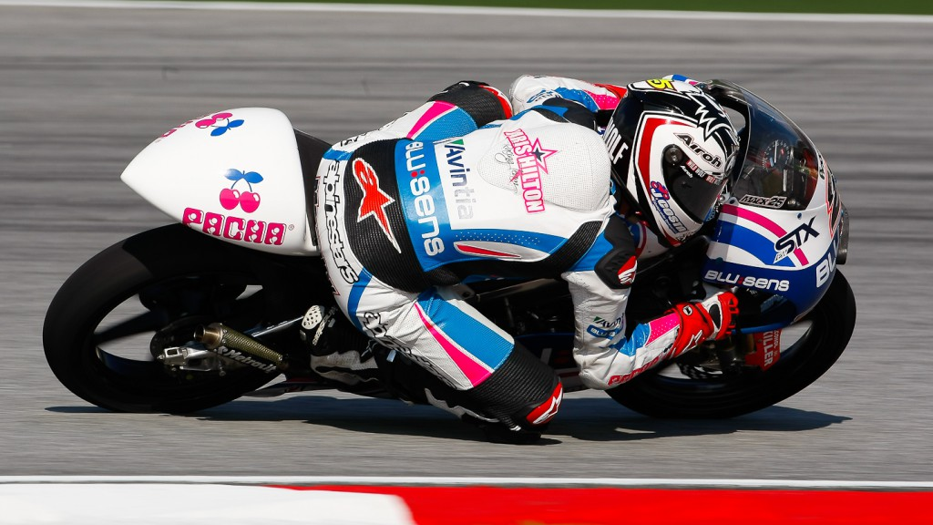Maverick Viñales, Blusens by Paris Hilton Racing, Sepang FP2