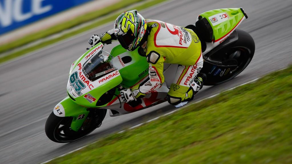 Loris Capirossi, Pramac Racing Team, Sepang FP2