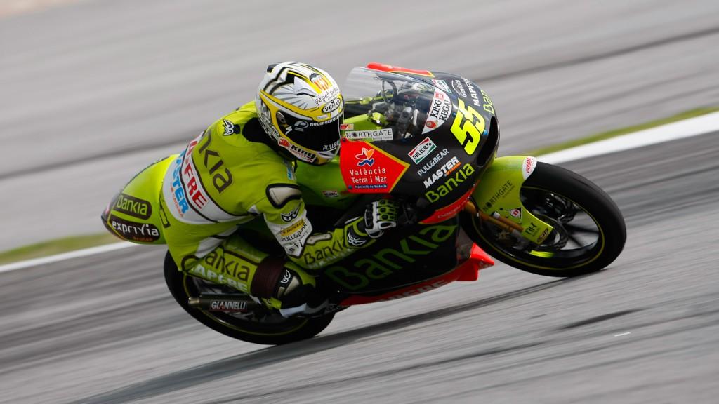 Hector Faubel, Bankia Aspar Team 125cc, Sepang FP2