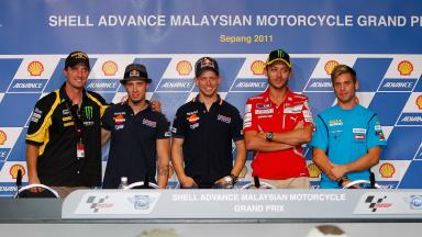 Shell Advance Malaysian Motorcycle Grand Prix Pre-event Press Conference