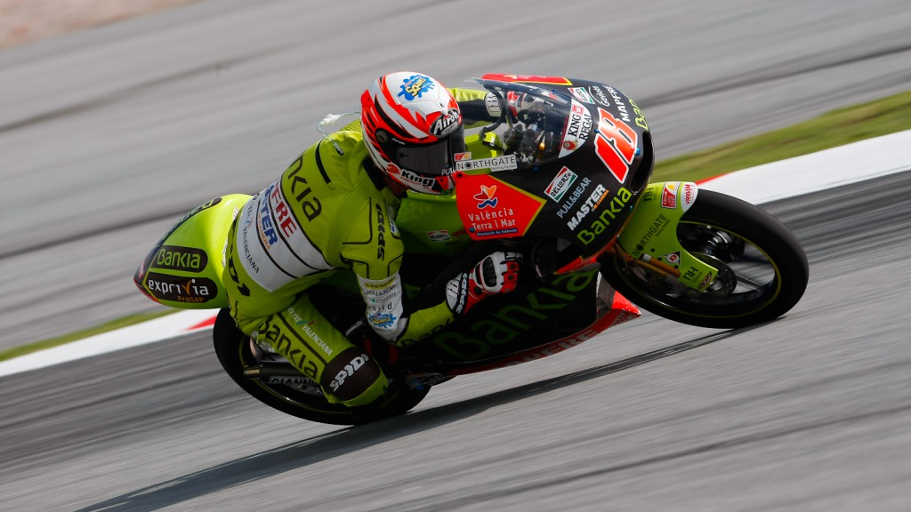 Nico Terol, Bankia Aspar Team 125cc, Sepang FP2