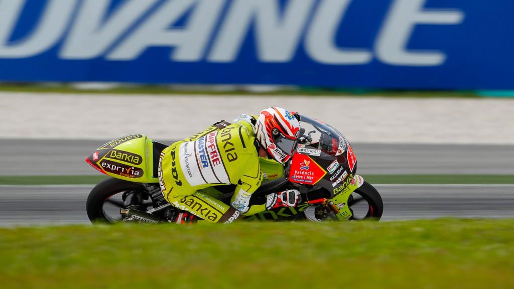 Nico Terol, Bankia Aspar Team 125cc, Sepang QP