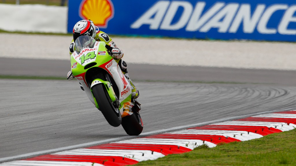 Randy de Puniet, Pramac Racing Team, Sepang QP