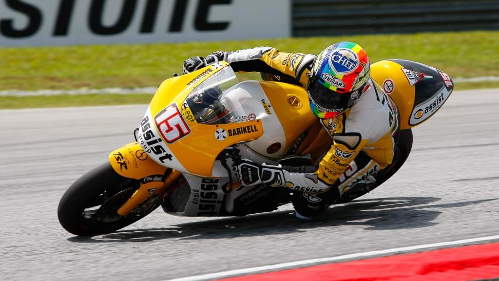 Alex de Angelis, JiR Moto2, Sepang FP3