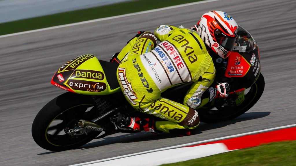 Nico Terol, Bankia Aspar Team 125cc, Sepang FP3