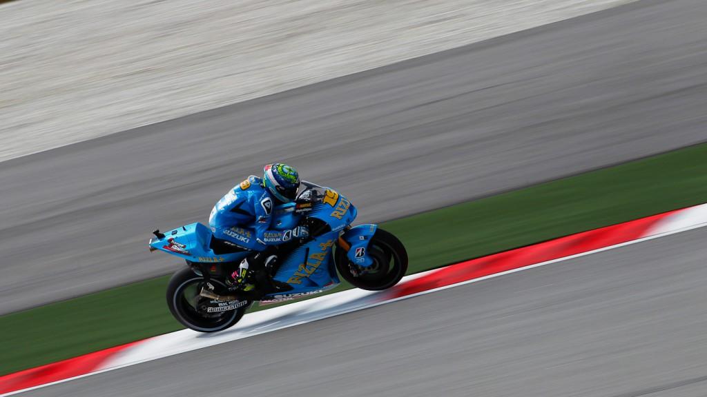 Alvaro Bautista, Rizla Suzuki MotoGP, Sepang QP