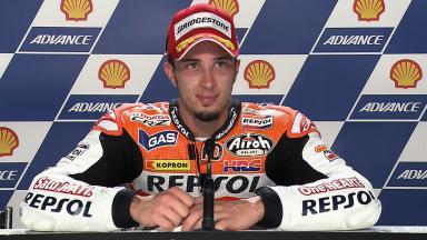 Sepang 2011 - MotoGP - QP - Interview - Andrea Dovizioso