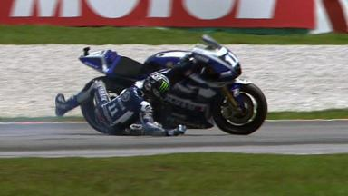 Sepang 2011 - MotoGP - QP - Action - Ben Spies - Crash