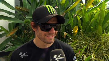 Crutchlow in QP top ten