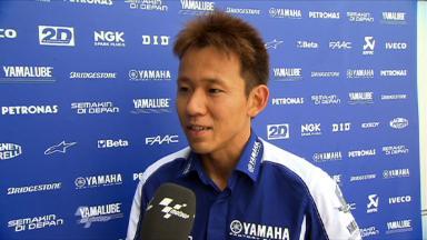 Sepang 2011 - MotoGP - QP - Interview - Katsuyuki Nakasuga