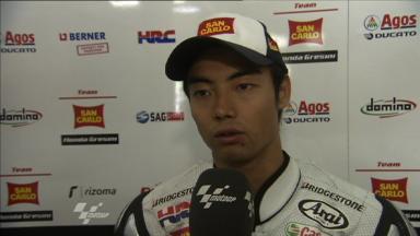 Aoyama on best MotoGP QP result