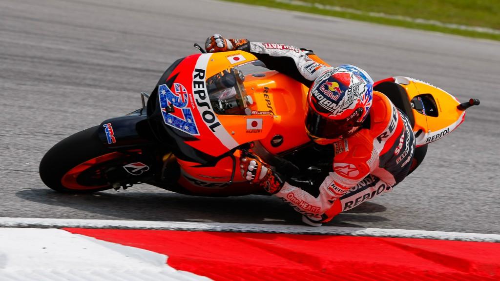 Casey Stoner, Repsol Honda, Sepang FP3