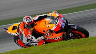 Casey Stoner, Repsol Honda, Sepang QP