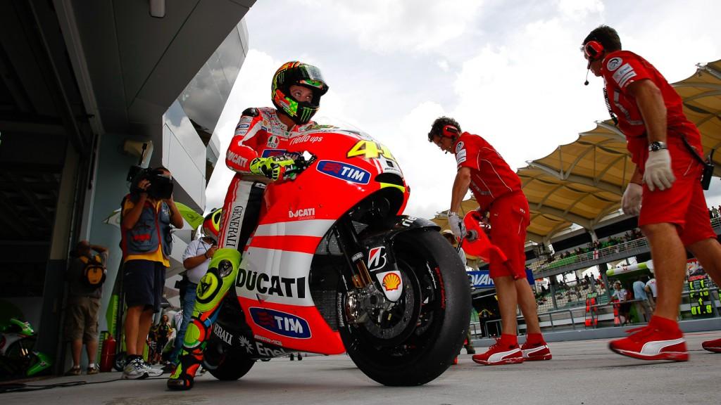Valentino Rossi, Ducati Team, Sepang QP