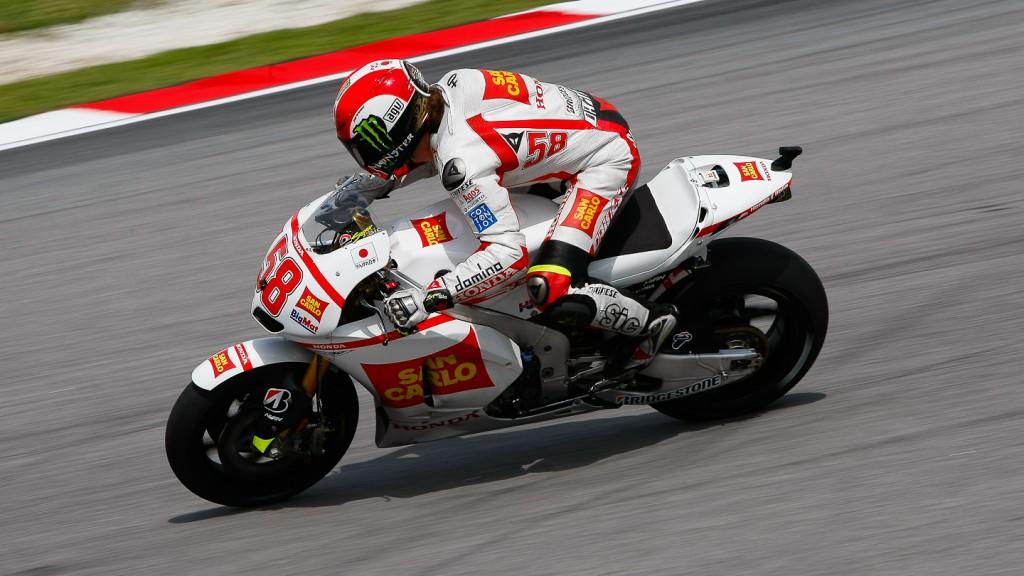 Marco Simoncelli, San Carlo Honda Gresini, Sepang FP3