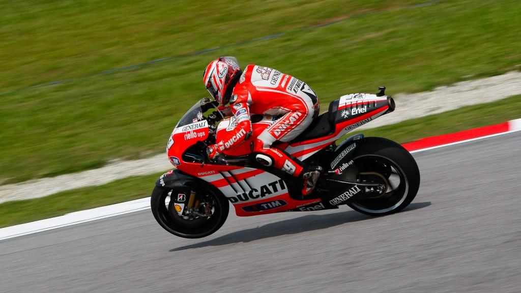 Nicky Hayden, Ducati Team, Sepang QP