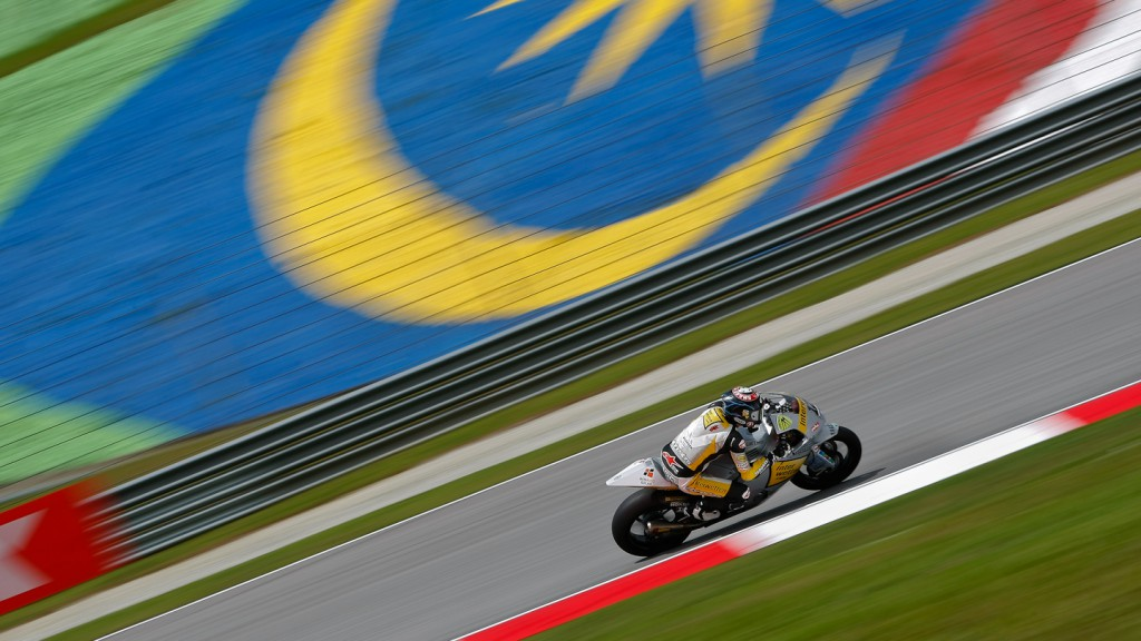 Thomas Luthi, Interwetten Paddock Moto2, Sepang WUP
