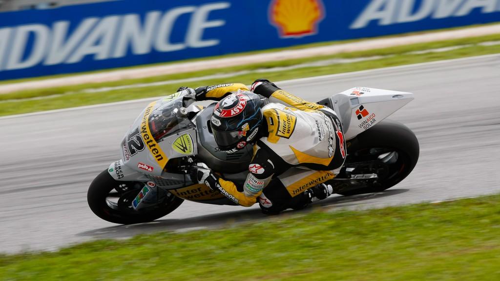 Thomas Luthi, Interwetten Paddock Moto2, Sepang RAC