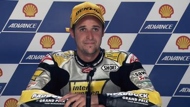 Sepang 2011 - Moto2 - Race - Interview - Thomas Luthi