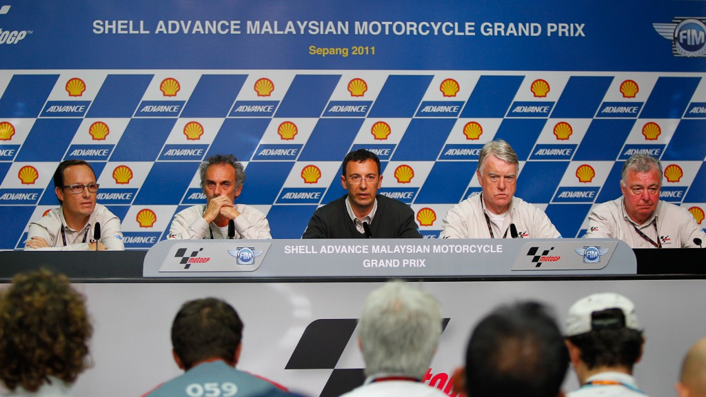 Race Direction Press Conference, Sepang