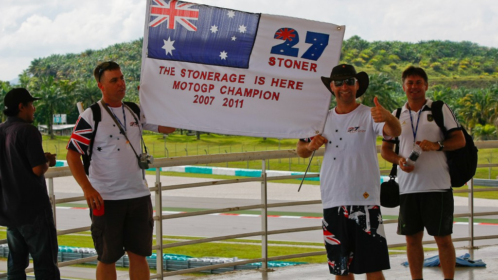 Casey Stoner´s Fans, Sepang