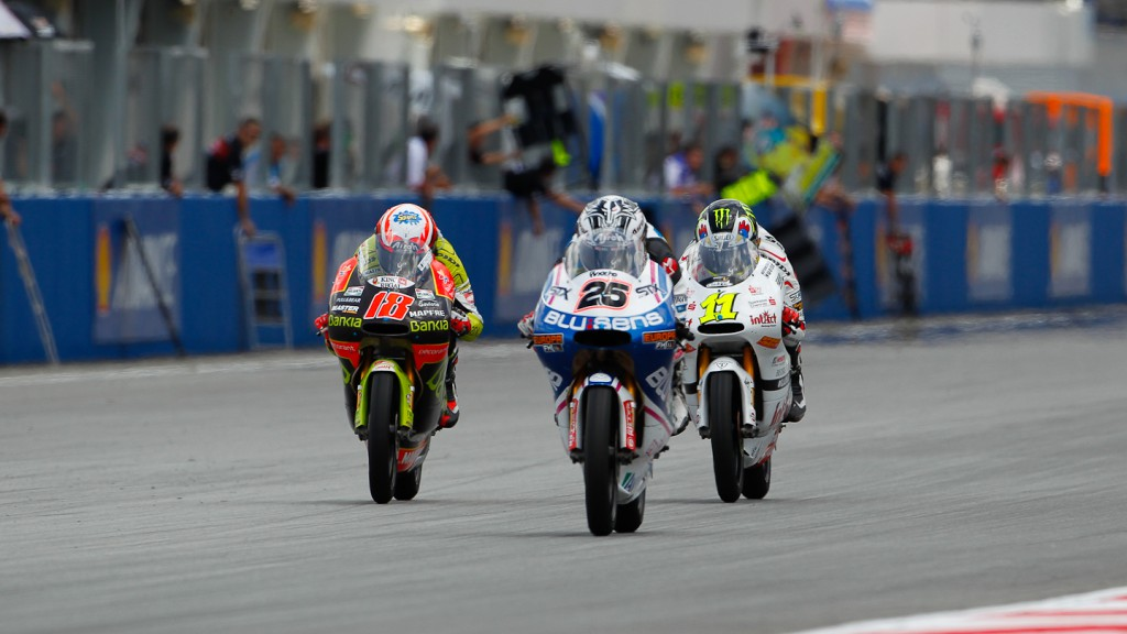 Nico Terol, Maverick Viñales, Sandro Cortese, Bankia Aspar Team 125cc, Blusens by Paris Hilton Racing, Intact-Racing Team German