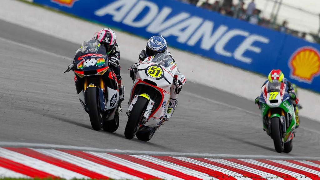 Aleix Espargaro, Michele Pirro, Pons HP 40, Gresini Racing Moto2, Sepang RAC