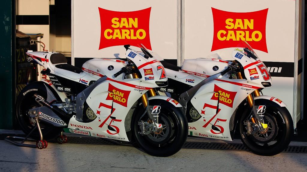 San Carlo Honda Gresini, Box