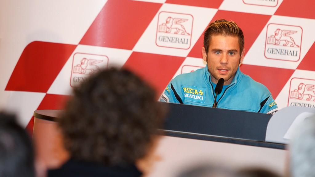 Alvaro Bautista, Rizla Suzuki MotoGP, Gran Premio Generali de la Comunitat Valenciana Press Conference