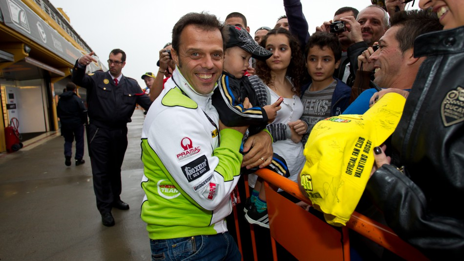 Loris Capirossi, Pramac Racing Team, Day of Champions, Comunitat Valenciana Circuit