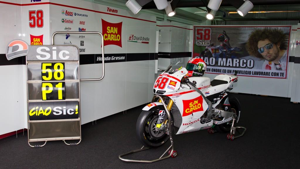 San Carlo Honda Gresini Box, Comunitat Valenciana Circuit