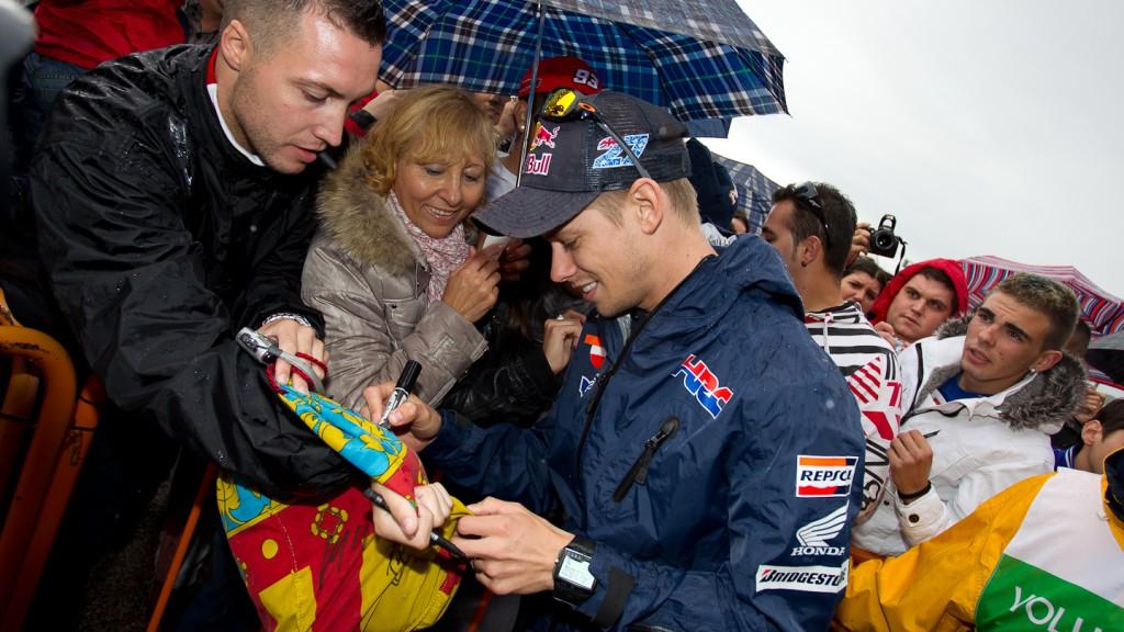 Casey Stoner, Repsol Honda, Day of Champions, Comunitat Valenciana Circuit