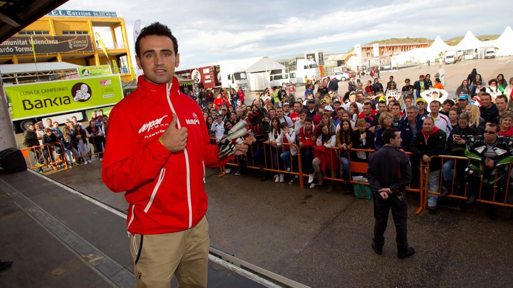 Hector Barbera, Mapfre Aspar Team MotoGP, Day of Champions, Comunitat Valenciana Circuit