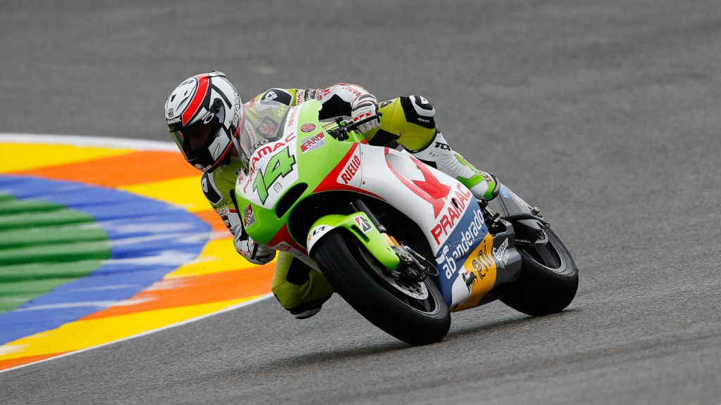 Randy de Puniet, Pramac Racing Team, Valencia FP2