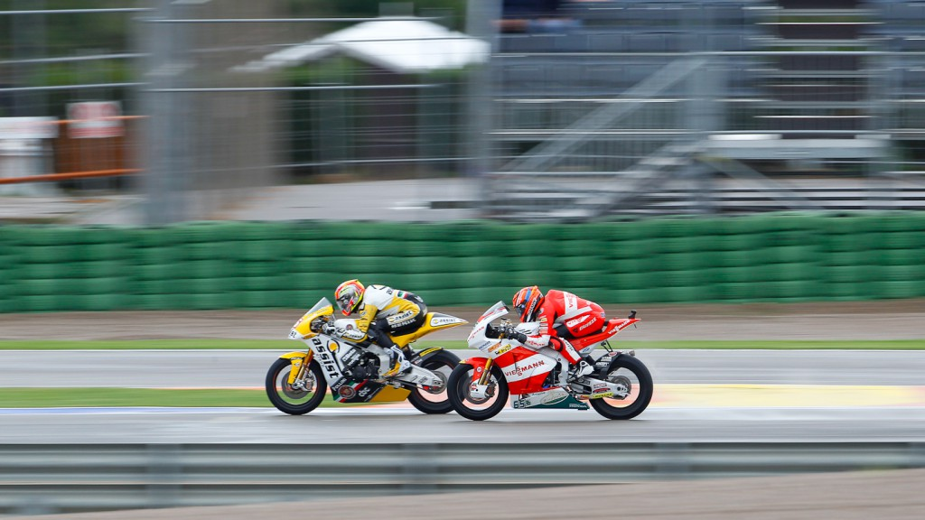 Alex de Angelis, JiR Moto2, Stefan Bradl, Viessmann Kiefer Racing, Valencia FP2