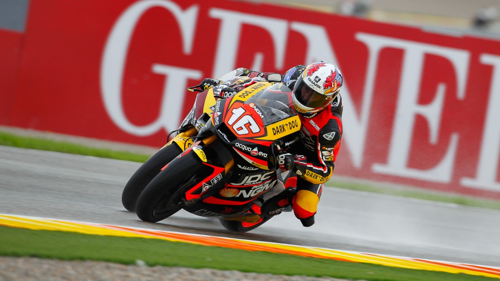 Jules Cluzel, NGM Forward Racing, Valencia FP2