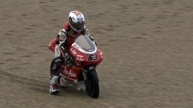 Valencia 2011 - 125cc - FP2 - Action - Zulfahmi Khairuddin
