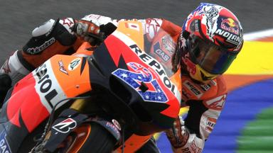 Valencia 2011 - MotoGP - FP1 - Highlights