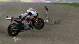 Valencia 2011 - MotoGP - FP2 - Action - Ben Spies - Crash