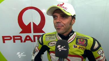 Capirossi determined to dedicate strong result to Simoncelli