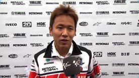 Nakasuga starts second GP experience