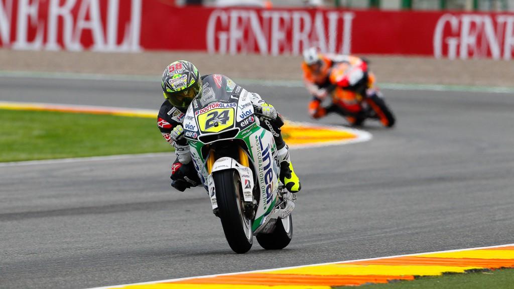 Toni Elias, LCR Honda MotoGP, Valencia FP2
