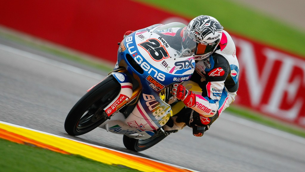 Maverick Viñales, Blusens by Paris Hilton Racing, Valencia FP2