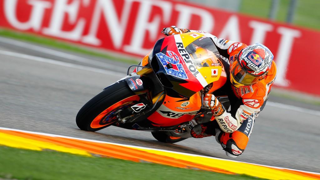 Casey Stoner, Repsol Honda Team, Valencia FP2