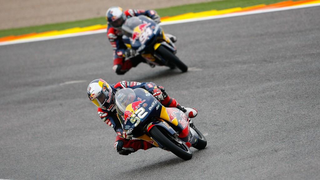 Danny Kent, Red Bull AjoMotorSport, Valencia FP2